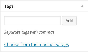 WordPress Tags Module